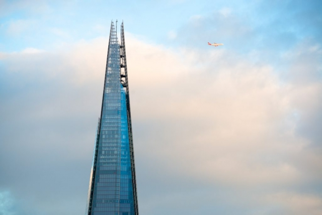 The Shard with Virgin