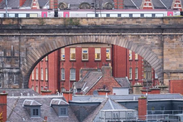 Railway bridge, Newcastle upon Tyne