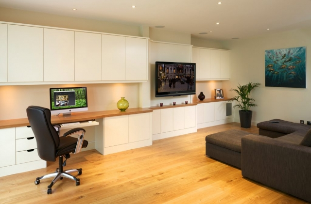 Conquest Fitted Furniture, basement room in Wimbledon