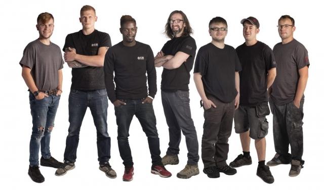 EM Acoustics team shot
