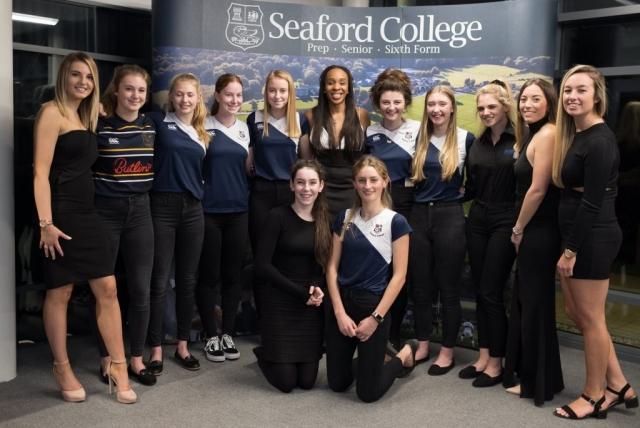 Seaford College hockey team