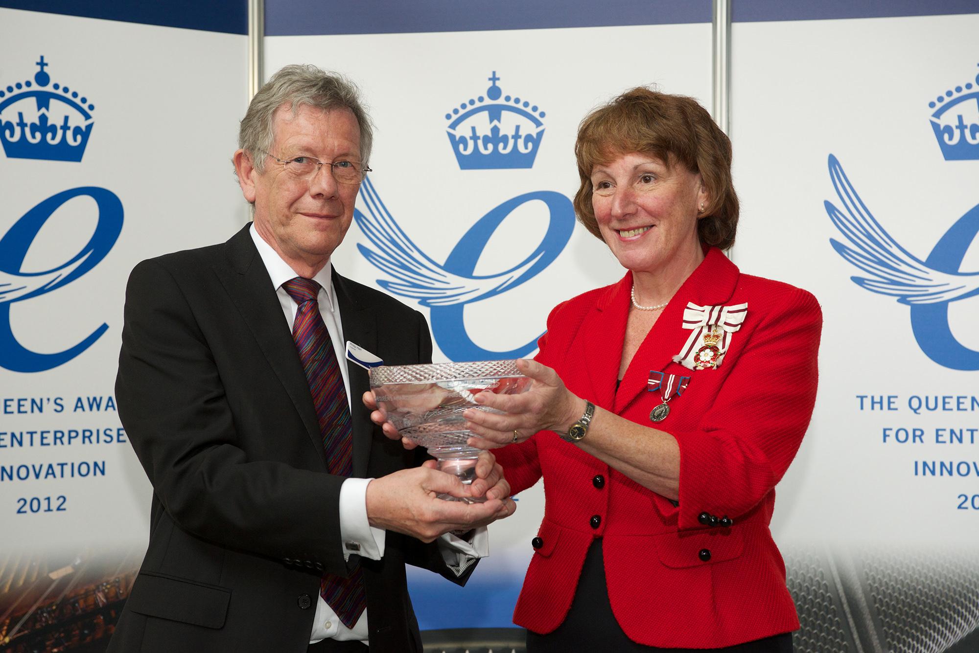 Queens award - Turbosound